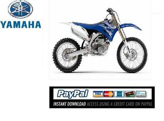 Pay for Download Service & repair manual Yamaha YZ250F 2010