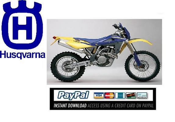Pay for Download Service manuel Husqvarna SM610, TE 610IE 2008