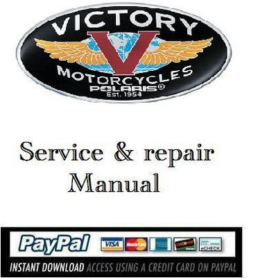 Pay for Service & repair manual Victory Hammer, Jackpot 2005 2006