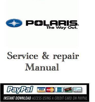 service repair manual polaris sportsman 400 500 2005. Black Bedroom Furniture Sets. Home Design Ideas