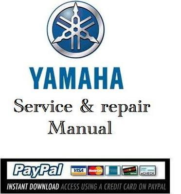 Pay for Download service  & repair manual Yamaha 200 225 250 HP 1999