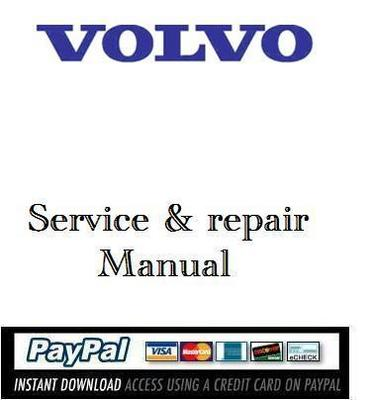 Pay for Download operator manual Volvo L20B L25B