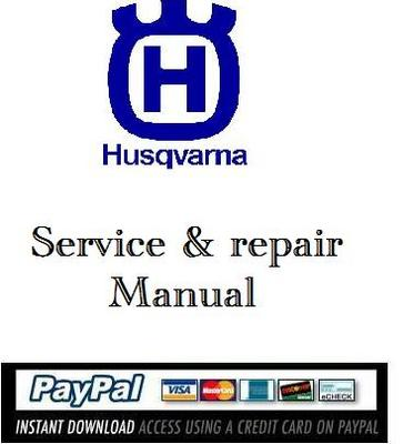 Pay for Service & repair manual Husqvarna 357 XP 359