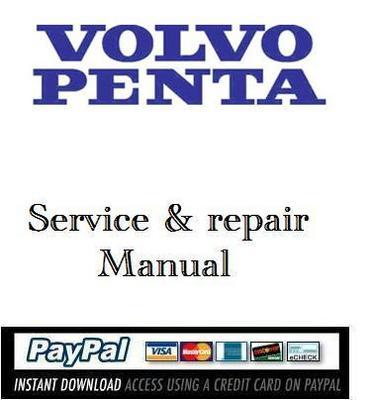 service repair manual volvo penta 400 500 600 700 series downlo rh tradebit com Volvo Penta Control Box Volvo Penta Lower Unit