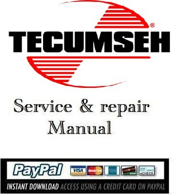 download service manual tecumseh 4 cycle ohv engines download man rh tradebit com tecumseh repair manuals free 146924a tecumseh repair manual download