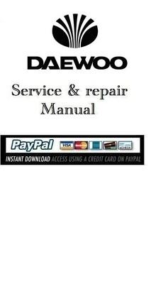 service manual daewoo generator p158le p180le p222le download man