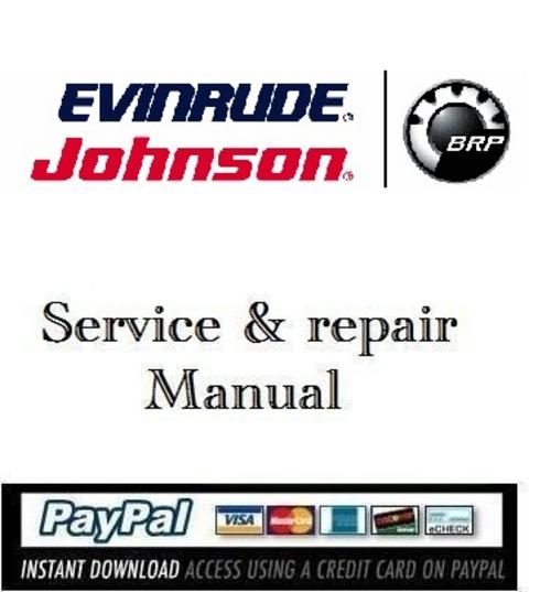 download service manual evinrude e tec 75 90 hp 2009 download man rh tradebit com Evinrude Troubleshooting Guide Evinrude Troubleshooting Guide