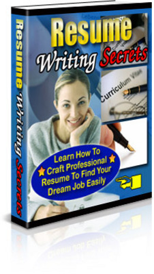 Pay for resume writing secret