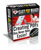 Thumbnail Easy PDF Maker Software with Master Resell Rights