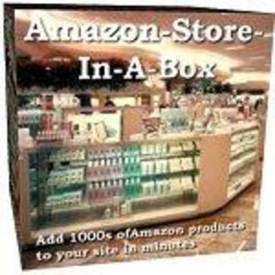 Pay for Amazon Affiliate Store In A Box