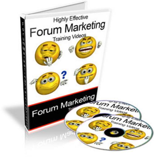 Pay for Super Forum Marketing Video tutorials