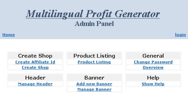 Pay for Multilingual Profit Generator
