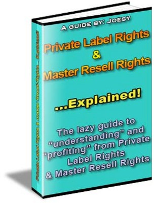 Pay for Private Label Rights  & Master Resell Rights Explained!