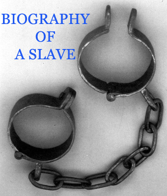Pay for HISTORY OF SLAVERY - BIOGRAPHY OF A SLAVE