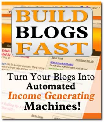 Pay for BLOGS The Automated Income Generating Machines Videos