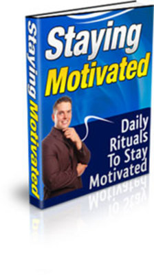Pay for Staying Motivated - Techniques and Methods