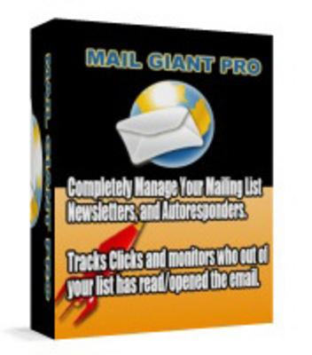 Pay for Mail Giant Pro Web Based php mysql Program