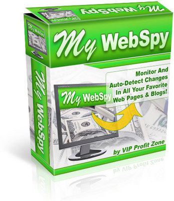 Pay for My WebSpy Auto Monitor Web Pages & Blogs