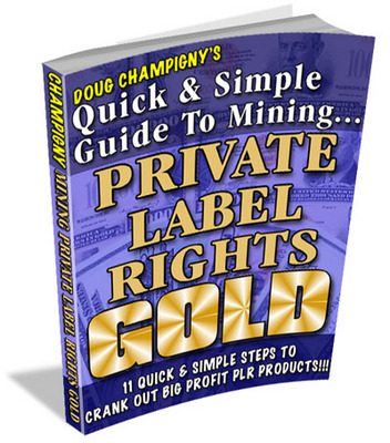 Pay for Private Label Rights - Pump out PLR products rake in CASH