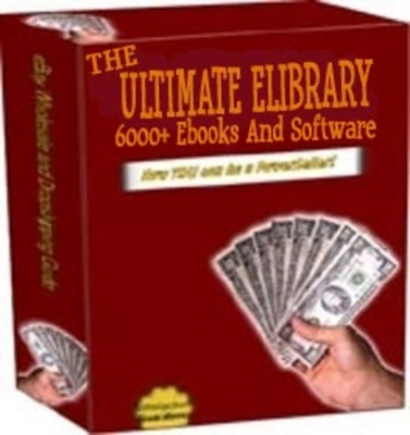 Pay for The Ultimate eLibrary 6000+ Download Ebooks and Software Set