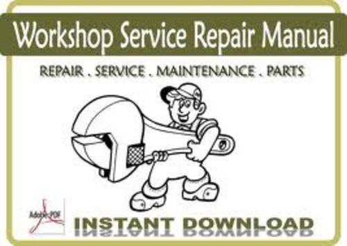 Pay for Caterpillar engine service manual 6D16 diesel