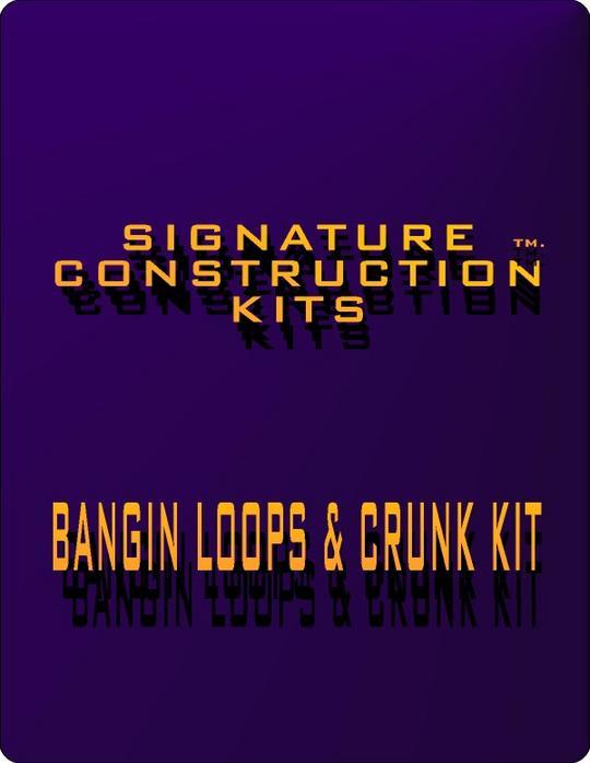 Pay for Hip Hop Loops:Signature Construction Kits Bangin Loops and Crunk Construction-Rap and Hip Hop Production Toolz