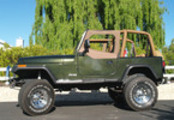Thumbnail The BEST 1995 Jeep Wrangler YJ Factory Service Manual