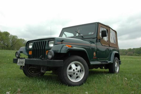 The Best 1994 Jeep Wrangler Yj Factory Service Manual