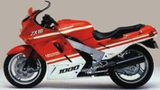 Thumbnail 1988-1990 Kawasaki ZX-10, Ninja ZX-10 (ZX1000) Motorcycle Workshop Repair Service Manual - 182MB PDF