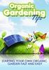 Thumbnail Organic Gardening Tips