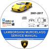 Thumbnail LAMBORGHINI MURCIELAGO Service Repair Manual 2001-2017