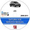 Thumbnail Saturn Vue 2008 - 2011 Service Repair Manual