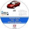 Thumbnail Dodge Neon 1995 - 1999 Service Repair Manual and Wiring Diag