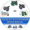 Thumbnail VOLVO TRUCK D11 D13 D16 ENGINE SERVICE REPAIR MANUAL
