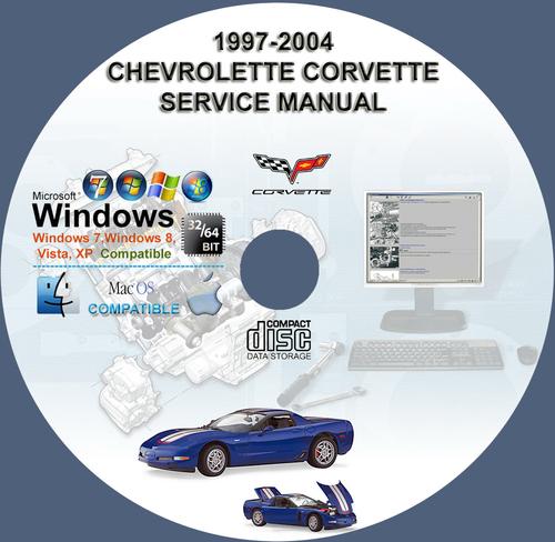 Pay for CHEVROLET CORVETTE 1997 - 2004 SERVICE REPAIR MANUAL