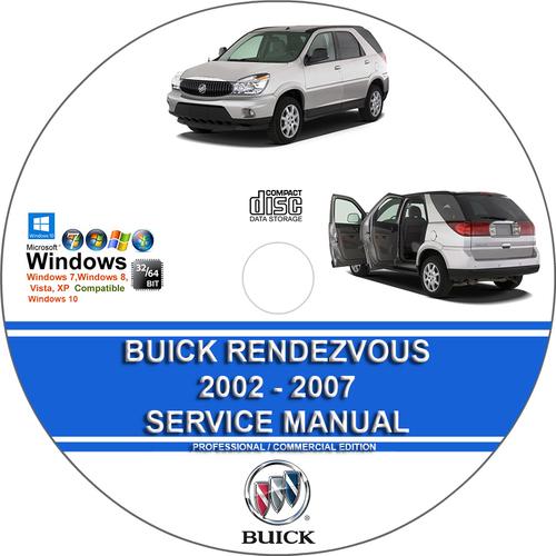 buick rendezvous 2002 2007 service repair manual. Black Bedroom Furniture Sets. Home Design Ideas
