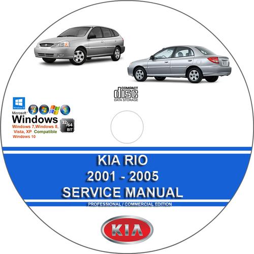 Pay for Kia Rio 2001 2002 2003 2004 2005 Service Repair Manual
