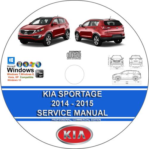 Kia Sportage 2014 - 2015 Service Repair Manual