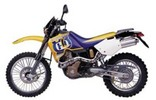 Thumbnail Husqvarna TE410e, TE610e, TE610eLT, SM610S Service Repair Manual 1998 1999 2000 Download
