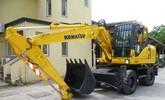 Thumbnail KOMATSU PW140-7 WHEELED EXCAVATOR SERVICE SHOP REPAIR MANUAL