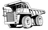 Thumbnail KOMATSU 210M DUMP TRUCK SERVICE SHOP REPAIR MANUAL (S/N: BFA40DA thru EP, 24501 thru 24647)