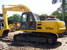 Thumbnail KOMATSU PC200-6 HYDRAULIC EXCAVATOR OPERATION & MAINTENANCE MANUAL (S/N: C10001 and up)