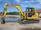 Thumbnail KOMATSU PC75R-2 HYDRAULIC EXCAVATOR OPERATION & MAINTENANCE MANUAL (S/N: 22E5200001 and up)