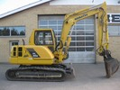 Thumbnail KOMATSU PC95R-2 HYDRAULIC EXCAVATOR OPERATION & MAINTENANCE MANUAL (S/N: 21D5200330 and up)