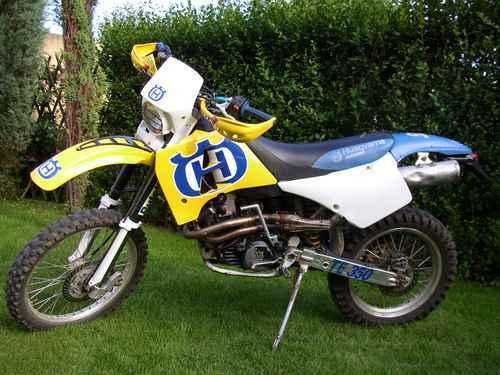 1995 Husqvarna Te 350 410 Amp Te Tc 610 Service Repair