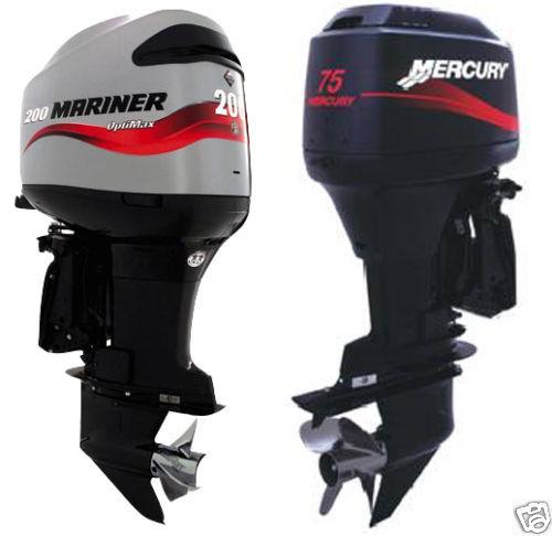 mercury mariner outboard 2 stroke 70 75 80 90 100 115hp