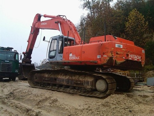 HITACHI EX550-5, EX550LC-5, EX600H-5, EX600LCH-5 EXCAVATOR WORKSHOP ...