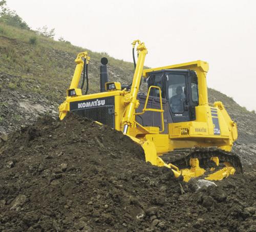 Landfill Compactor Maintenance : Komatsu wf a trash compactor service shop repair