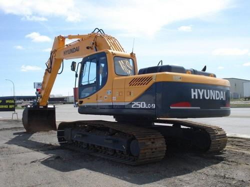 Hyundai R250lc-9 Crawler Excavator Service Repair Manual