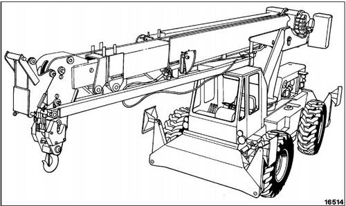 Komatsu 150a 150fa Crane Operation Maintenance Manual